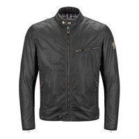 Belstaff Ariel wax cotton jacket in black