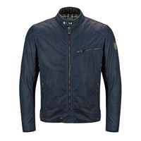 Belstaff Ariel wax cotton jacket in navy