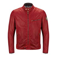 Belstaff Ariel wax cotton jacket in red