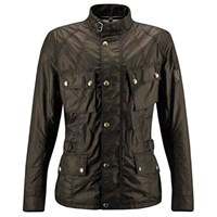 Belstaff Crosby wax cotton jacket in mahogany