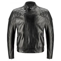 Belstaff Ivy leather jacket in black