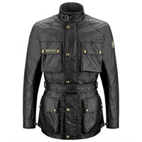 Belstaff Trialmaster 6oz wax cotton jacket in black