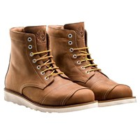 Belstaff Anderson boots in oak brown