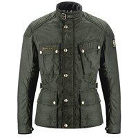 Belstaff McGee wax cotton jacket in black brown