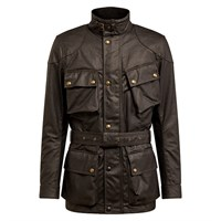 Belstaff Trialmaster Pro wax cotton jacket in mahogany