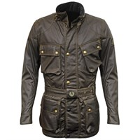 Belstaff Green Trialmaster Wax Cotton Jacket