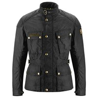Belstaff McGee wax cotton jacket in black