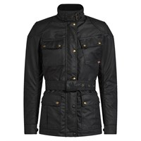 Belstaff Trialmaster Pro wax cotton ladies jacket in black