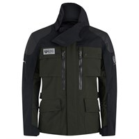 Belstaff Long Way Up Charley Boorman jacket in dark olive