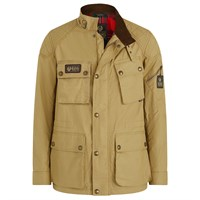 Belstaff Long Way Up Field jacket in vintage khaki