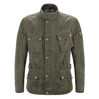 Belstaff Green Crosby Vintage Wax Jacket