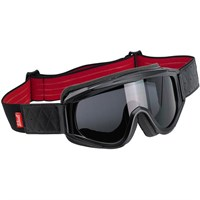 Biltwell Overland Goggles - Black/Red