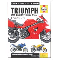 Triumph 1050 Sprint St, Speed Triple & Tiger 05-09