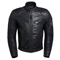 BKS Leather jacket in black