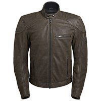 BKS Leather jacket in coffee