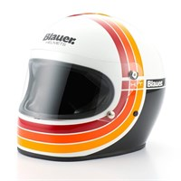 Blauer 80's helmet in white