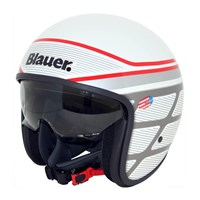 Blauer Pilot 1.1 Graphic B Gloss White Helmet