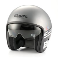 Blauer Pilot 1.1 Graphic B Matt Black/White/Grey Helmet