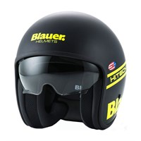 Blauer Pilot 1.1 Graphic G Matt Black/Yellow Helmet