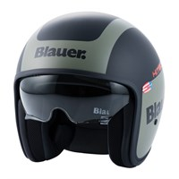 Blauer Pilot 1.1 Graphic G Matt Black/Green Helmet