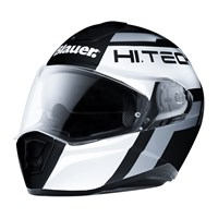 Blauer Force One 800 Matt Black/White/Grey Helmet