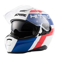 Blauer Force One 800 White/Blue/Red Helmet