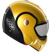 Roof Boxxer Carbon UNI helmet in yellow