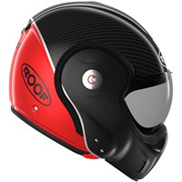 Roof Boxxer Carbon helmet in red