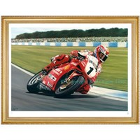 King Carl - Carl Fogarty Print