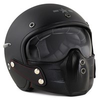 Harisson Corsair helmet in matt black