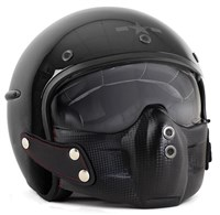 Harisson Corsair helmet in gloss black
