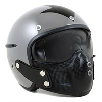 Harisson Harrow Helmet in grey / black