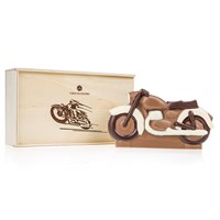 Chocolate Motorcycle in a gift box