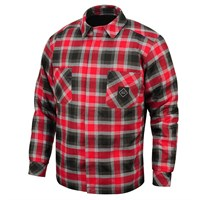 Crave motorcycle shirt in red