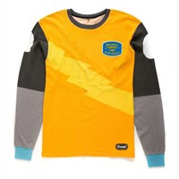 Deus OCD Moto 3 Long Sleeve T-Shirt - Yellow