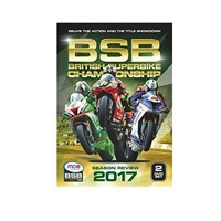 The Official 2017 British Superbike Review DVD