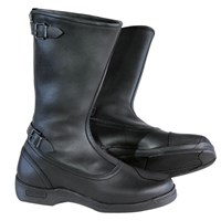 Daytona Classic Old Timer Motorcycle boots in black