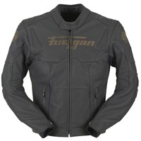 Furygan Fury Sherman Black Leather Jacket