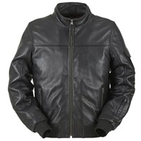 Furygan Freddy Black Leather Jacket