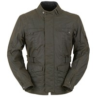 Furygan Thruxton Wax Cotton Jacket in brown