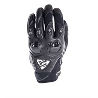 Five Stunt Evo leather gloves in black