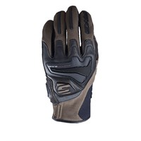 Five RS4 gloves in brown / black