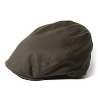 Failsworth Wax flat cap in olive