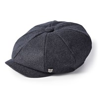 Failsworth Alfie Melton cap in grey