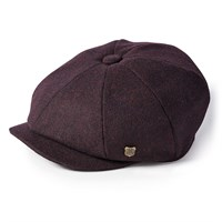 Failsworth Alfie Melton cap in merlot