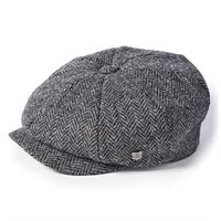 Failsworth Carloway cap in black/grey