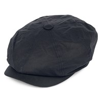 Failsworth Wax Alfie cap in navy