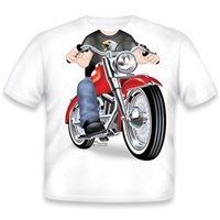 Little Tees Boys Biker T-Shirt