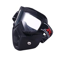 Mask Double Lens Goggle Anti-Fog