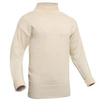 Submariner Rollneck Sweater Ecru